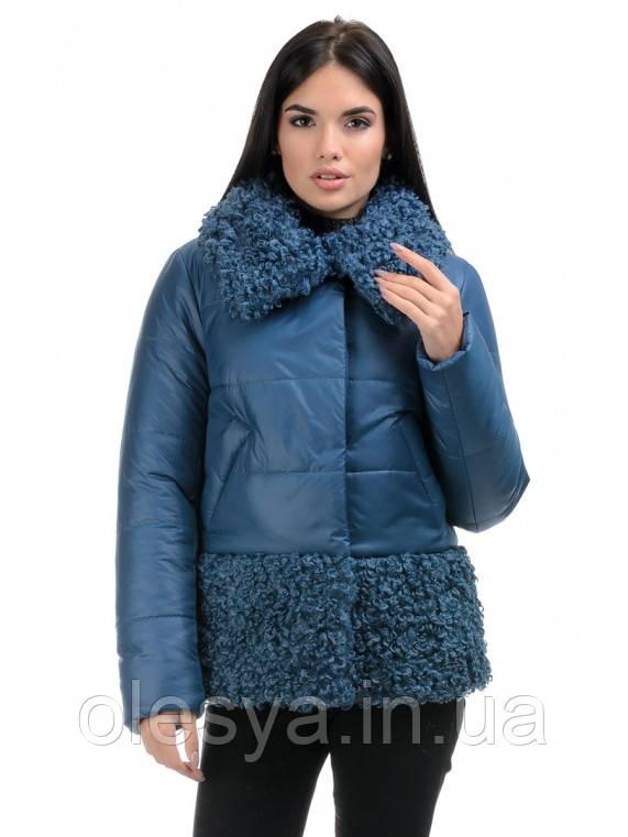 Куртка молодежная зимняя женская Барбара Размеры 44 - 50