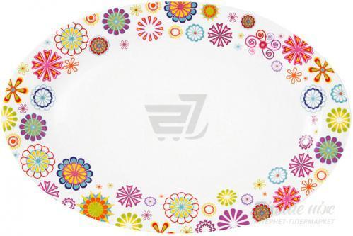 Блюдо сервировочное Blumen 30,6x21,4 см 21-244-028 Krauff