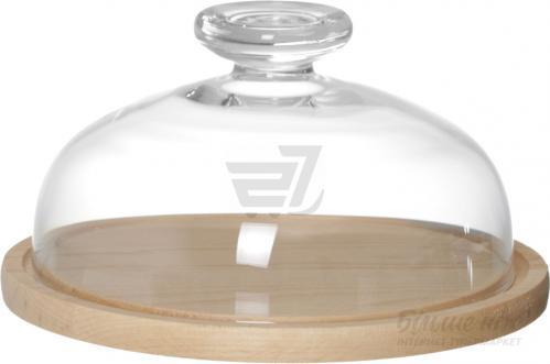 Тортовница с крышкой 25 см Glasmark