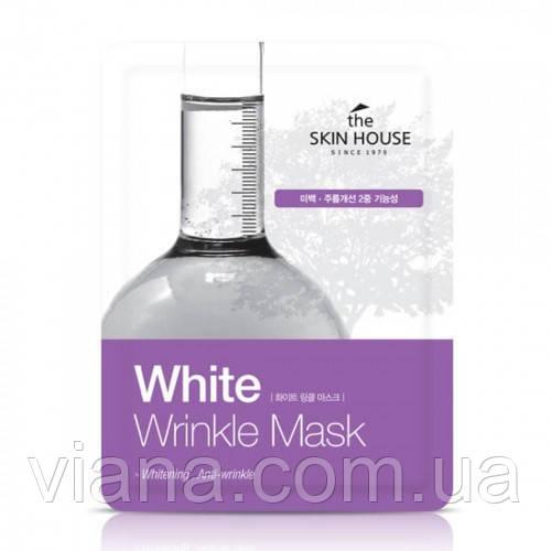 Тканевая маска от морщин и пигментации THE SKIN HOUSE White Wrinkle Mask