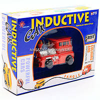 Индукционная (индуктивная) машинка-поезд, 8*3*5 см (777-005С)
