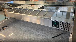 Холодильный стол для пиццы Hurakan hkn-gxpz3gr, фото 3