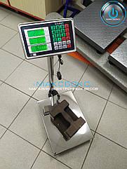 Весы для приёма товара 150 кг Олимп А