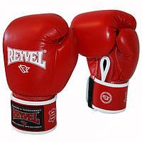 Рукавички для боксу Reyvel (шкіра, різні кольори) 12OZ