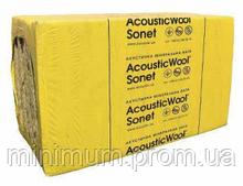 Акустическая вата Acoustic Wool Sonet (АКУСТИК ВУЛ СОНЕТ) 6,0м2 / упак, (1000*600*50) 48 кг/м.куб