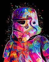 Картина для рисования по номерам 40х50см Babylon Turbo Штурмовик империи Звездные войны