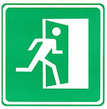 "Табличка (знак) аварийный выход - ""на право"", фото 2"