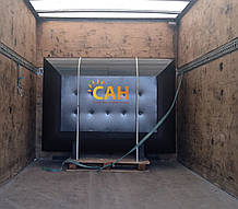 Квадратный теплоаккумулятор САН 2м3