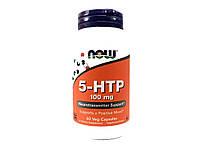 5-HTP 5-гидрокситриптофан, Now Foods, 60 капсул