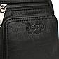 Мужская Сумка Через Плечо Мессенджер Jeep Buluo (JB6001-2) Искусственная Кожа Черная, фото 6
