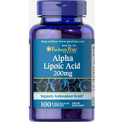 PsP Alpha Lipoic Acid 200 mg - 100 кап