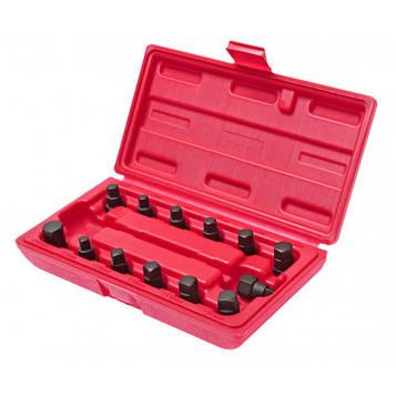 Комплект головок для маслосливных пробок 13ед. JTC 1117