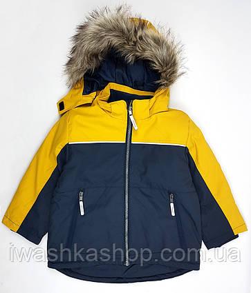 Непромокаемая и ветрозащитная куртка зима на мальчика 3 - 4 лет, р. 104, H&M