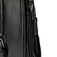 Мужская Сумка Набедренная Искусственная Кожа Черная (EW734), фото 7