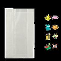 Бумажный пакет без ручек белый 410х250х60мм (ВхШхГ) 40г/м² 100шт (103)