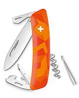 Нож Swiza C03 оранжевый urban, 11 функций, штопор