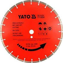 Диск отрезной алмазный по бетону YATO YT-5953 (Польша)