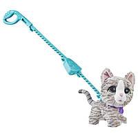 FurReal Friends Интерактивная кошка котенок на поводке E4781 Walkalots Big Wag Kitty