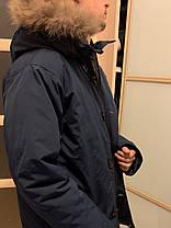 Мужской пуховик Канада гус Canada goose Chateau (BLUE), фото 3