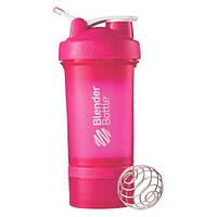 Шейкер спортивный BlenderBottle ProStak с шариком 650 мл Розовый, фото 1