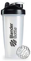 Шейкер спортивный BlenderBottle Classic 28oz/820ml прозрачный/черный (ORIGINAL), фото 1