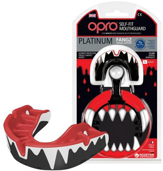 Капа OPRO Platinum Series Fangz (art.002197003)