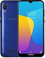 Смартфон Doogee x90 Blue 1/16Гб 6.1 3400mAh 19:9 Android Go +Бампер и Стекло