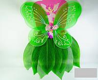 Костюм карнавальный лесной феи 1 (крылья, юбка)