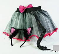 Костюм карнавальный Кошки юбка+ушки+хвост