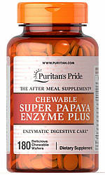 PsP Chewable Super Papaya Enzyme Plus - 180 жев.таб