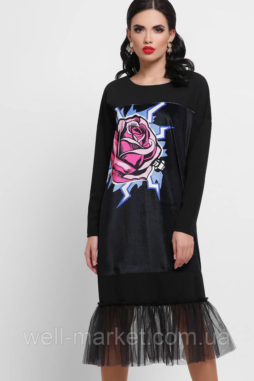 GLEM Роза платье Луиза д/р