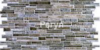 """Водостойкая листовая ПВХ панель Регул камень """"Пластушка серая"""" 4"""