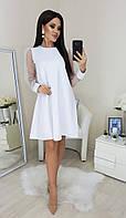 ТК2283 Стильное женское платье норма и батал, фото 1