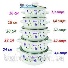 Качественный набор кастрюль,5шт, кастрюля, кастрюли, якісниий набір каструль, Unique, фото 3