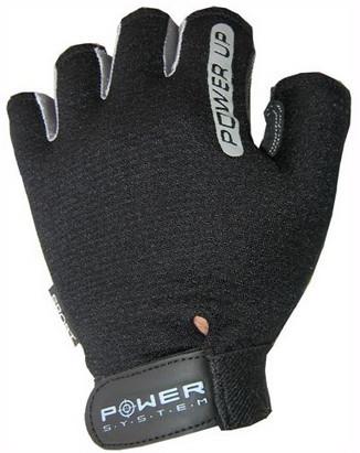 Перчатки для фитнеса и тяжелой атлетики Power System Power UP PS-2600 S Black