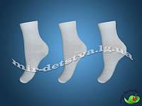 """Белые детские носки ТМ """"АфРика"""" с выбитым рисунком р.20 (128-134 см)"""