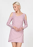 Коктейльна сукня з металевими декорами Ornato