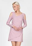 Коктейльна сукня з металевими декорами Ornato L