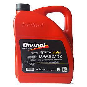 Моторное масло Divinol Syntholight DPF 5W-30 5л (49180)