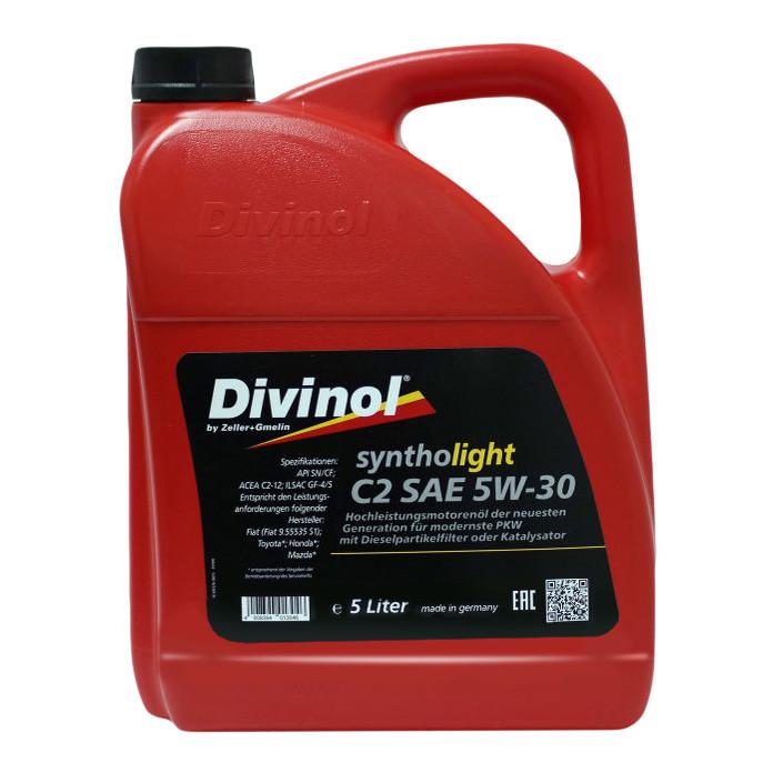 Моторное масло Divinol Syntholight 5W-30 C2 5л (49700)