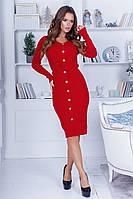Платье с пуговками в расцветках 29568, фото 1