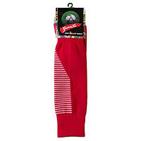 Гетры детские/подросток, терилен+эластан, махровый носок, красный  (F15R)