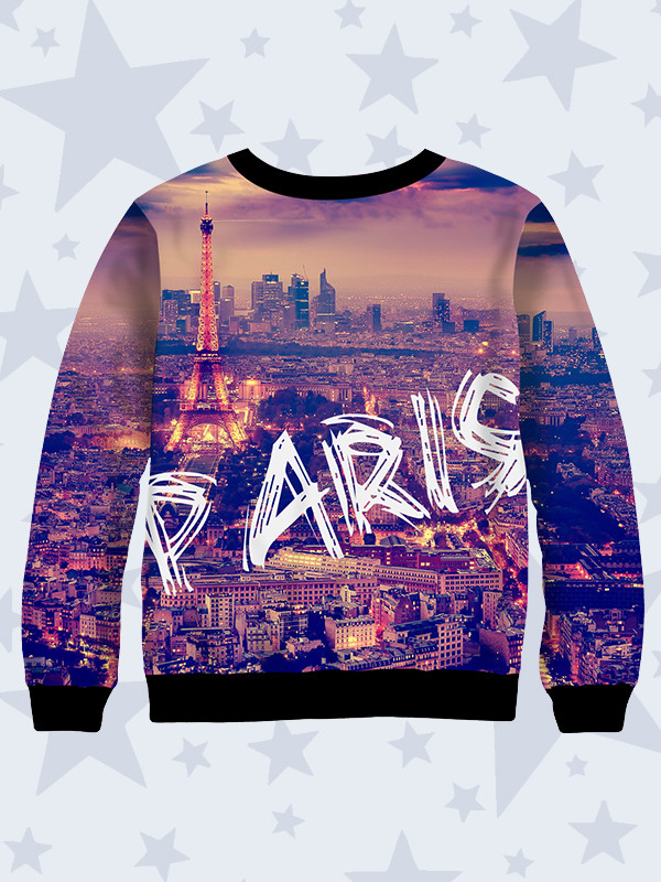 Детский свитшот Шикарный Париж, фото 1