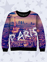 3D свитшот Шикарный Париж; XXS, XS, S, M, L, XL, фото 1