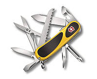 "Нож Victorinox Delemont ""EvoGrip S18"" желто-черный"