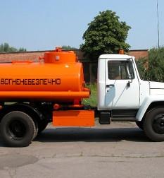 Автоцистерна АЦ-4,8-3307 на шасси ГАЗ