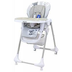 Стульчик для кормления Baby Mix UR-B003S, серый (9872)