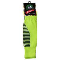 Гетры детские/подросток, терилен+эластан, махровый носок, салатовый  (F15-GR), фото 1