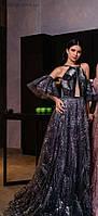 Длинное выпускное платье, фото 1