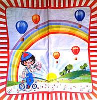 Редкая салфетка Мальчик и радуга 4935